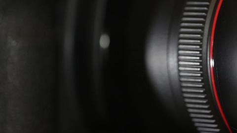 camera lens closeup Footage