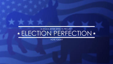Election Perfection After Effects Template