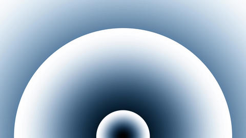 Concentric Blue White Gradient Circles Burst Arch 2 Animation
