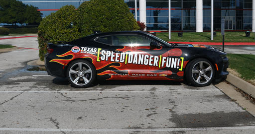 Official Pace car for Texas Motor Speedway 画像