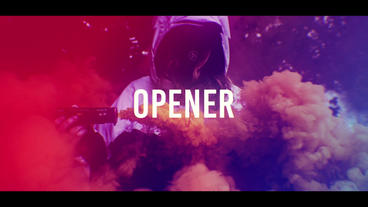 Colorful Stomp Intro After Effects Template