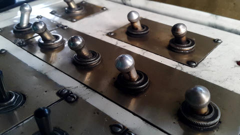 Turn On The Toggle Switch on old control panel Image