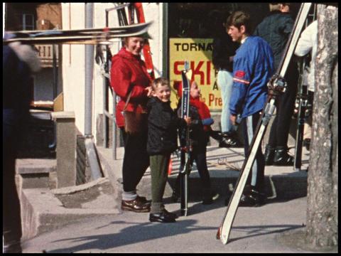 Ski vacation 01 Footage