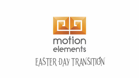Easter Day Transition After Effects Template