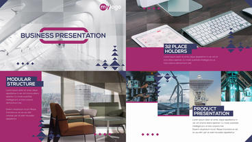 Business Presentation After Effects Template
