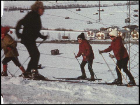Skiing 06 Footage