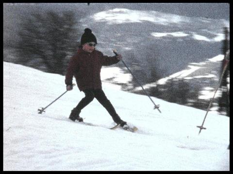 Skiing 08 Footage