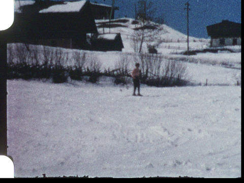 Skiing 09 Footage