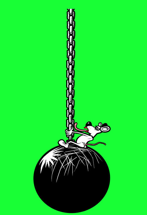 Rat on a Wreckingball Animation