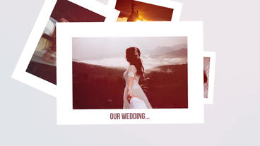 Clean Romantic Slideshow. Wedding Memories Premiere Pro Template