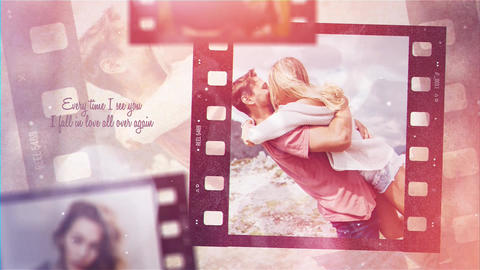 Flim Strip Memories After Effects Template