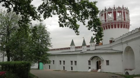 Novodevichy monastery Footage
