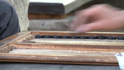 Backgammon game Archivo