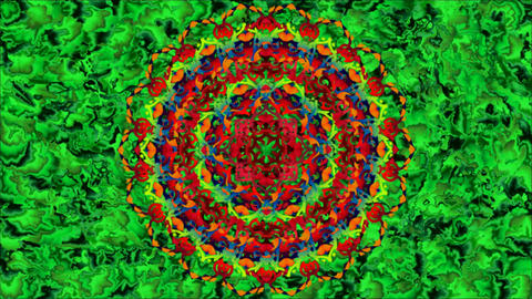 Mandala Abstract background 02 CG動画素材