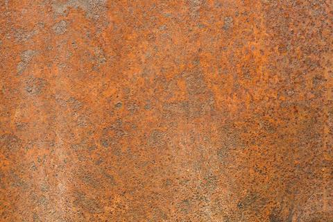 rusty metal sheet Fotografía