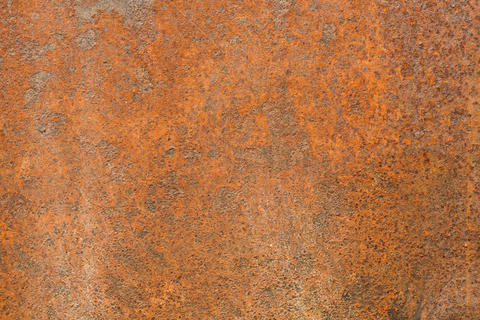 rusty metal sheet フォト