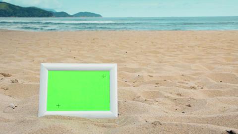 Green Screen Sunny Beach Frame Live Action