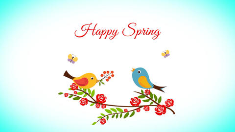 Happy Spring After Effects Template