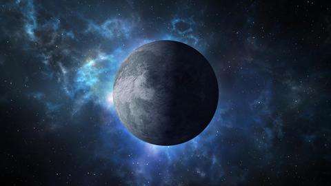 Far planet loopable rotation Image