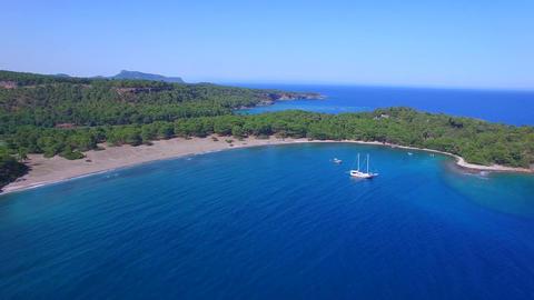 Phaselis Bay Antalya / Kemer Footage