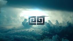 Dark Sky Logo Premiere Pro Template