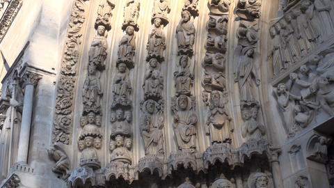 Notre Dame Paris Eingang / Entrance ビデオ