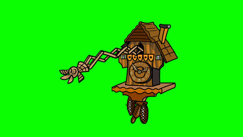 Cuckoo Clock Animation