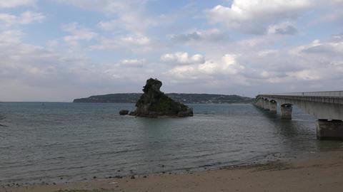 (4K)Kouri Island Okinawa / 古宇利島 沖縄 4K動画素材 Live Action