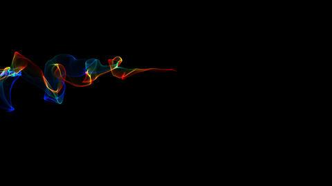 Fractal Flame Transition - 01 - Rainbow 스톡 비디오 클립, 영상 소스, 스톡 4K 영상