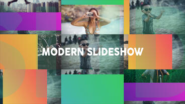 Modern Dynamic Slideshow After Effects Template