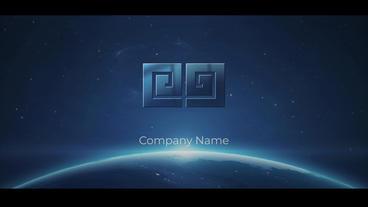 Space Logo Premiere Pro Template