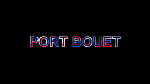 Letters are collected in International Airport PORT BOUET, then scattered into Animation