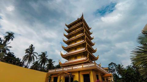 Vinh Trang Pagoda Footage