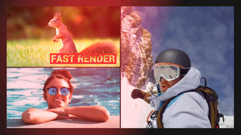 Modern Clean Slide Show After Effects Template