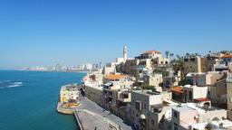 Aerial footage of Tel Aviv - Jaffa Footage