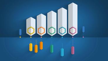 Column Bar Chart After Effects Templates - Editable after effects templates