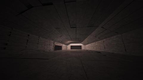 4K Cinematic Space Station Hangar 9 Animation