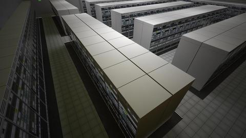 4K Data Center Server Room 3D Animation 5 Animation