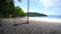 Beach swing 1 GIF