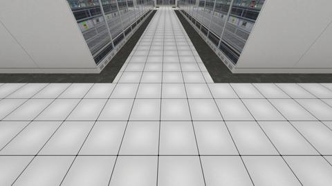 Data Center Server Room Cluster Farm 3D Animation 6 Animation
