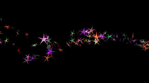 Rainbow Star Trail - 02 Animation