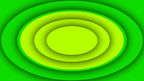 Colorful Background From Four Ovals Animation