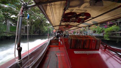 Khlong Saen Sateb canal in Bangkok Image