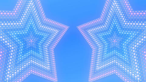 LED Wall 18 3 Star Fb1 4k Animation