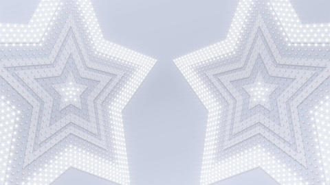 LED Wall 18 3 Star Fb2 4k Animation