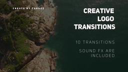 Creative Logo Transitions Premiere Pro Template