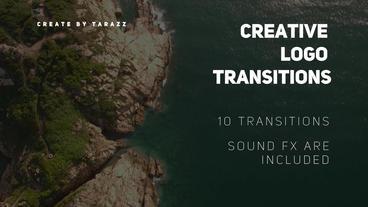 Creative Logo Transitions Premiere Pro Template