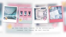 Square Photo Slideshow Premiere Pro Template