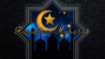 Ramadan Mubarak Plantilla de Apple Motion