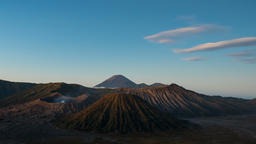 Volcanoes of Bromo National Park, Java, Indonesia . The second edition with the GIF
